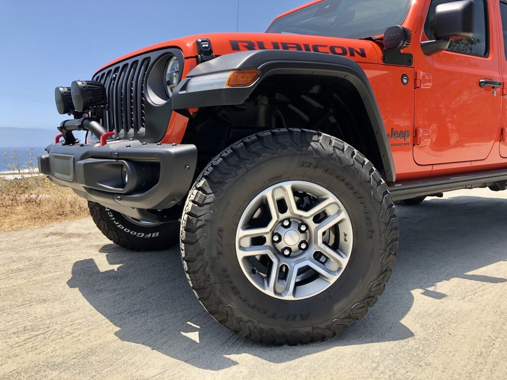 A 2-inch lift kit, $1,495, to add bigger tires and wheels.