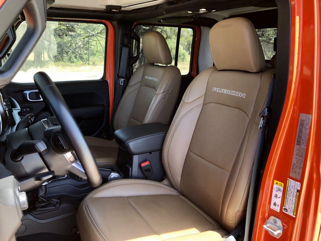 Katzkin leather seats, $1,750