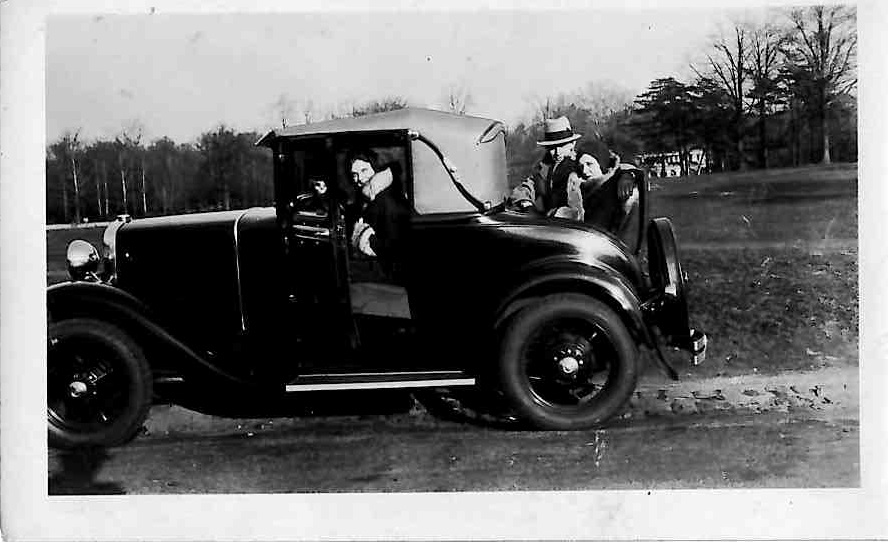 A new Model A Sport Coupe.