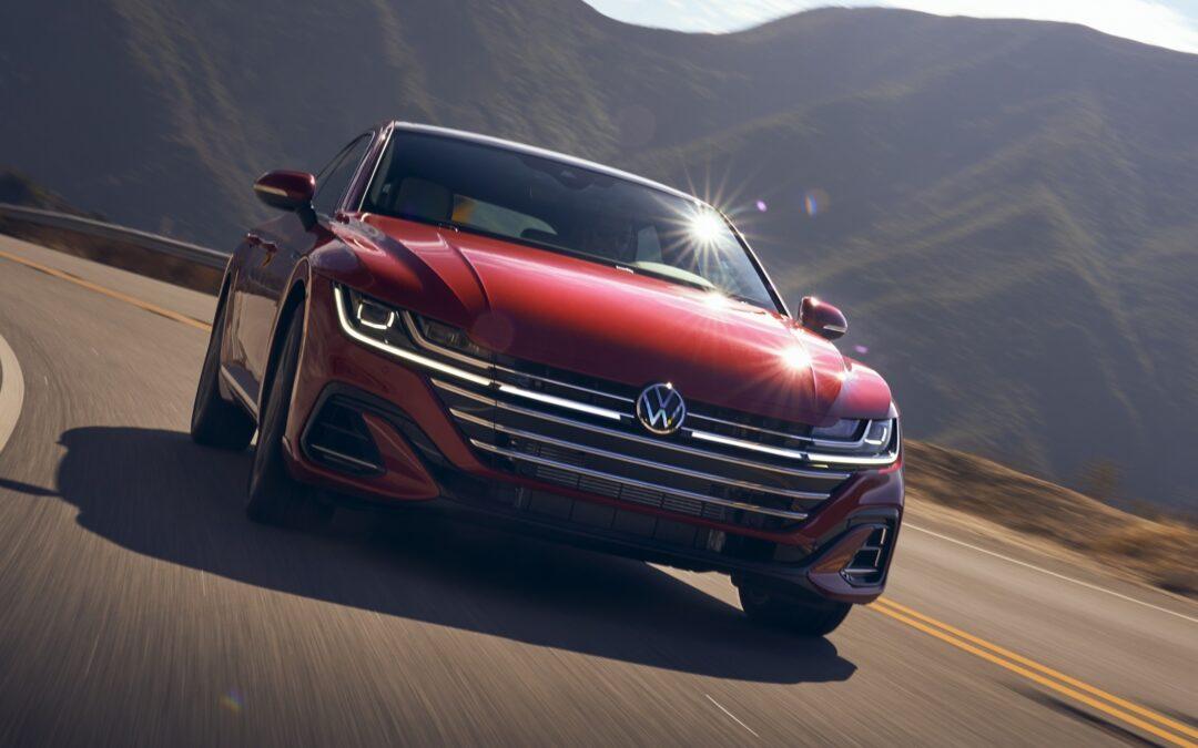 2021 Volkswagen Arteon 2.0T: Speed updating