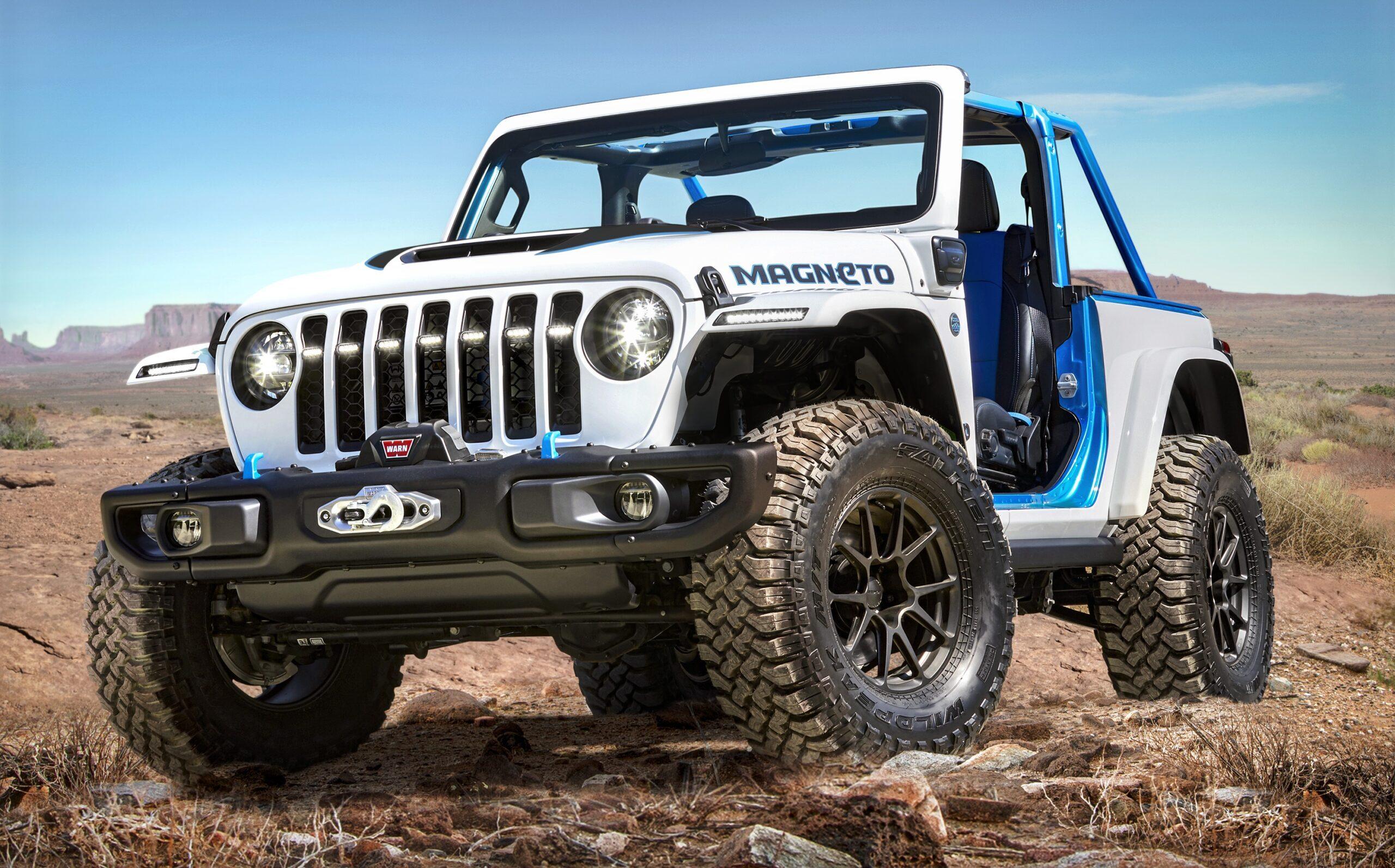 The Jeep Magneto concept