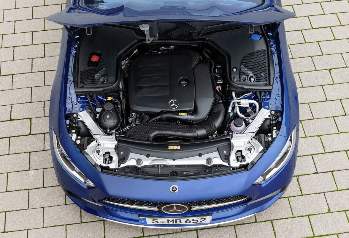 The mild-hybrid engine.