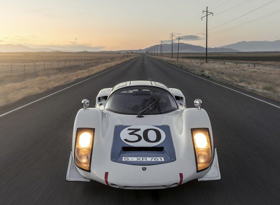 a famed Porsche 906 racecar in Retromotive magazine.