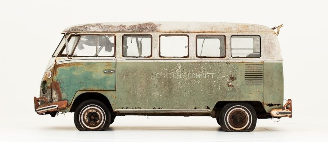 The so-called Jenkins 1966 Type 2 VW bus