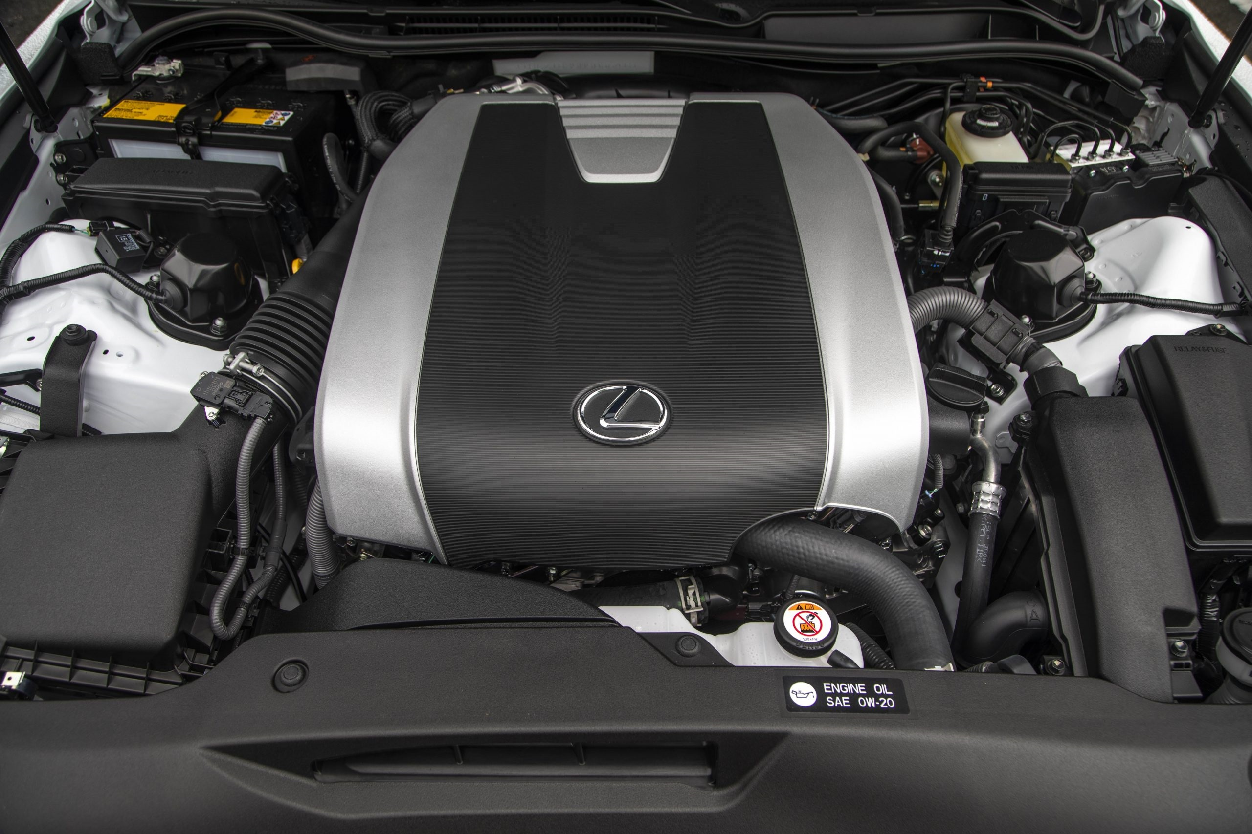 2021 Lexus IS 350 F Sport engine