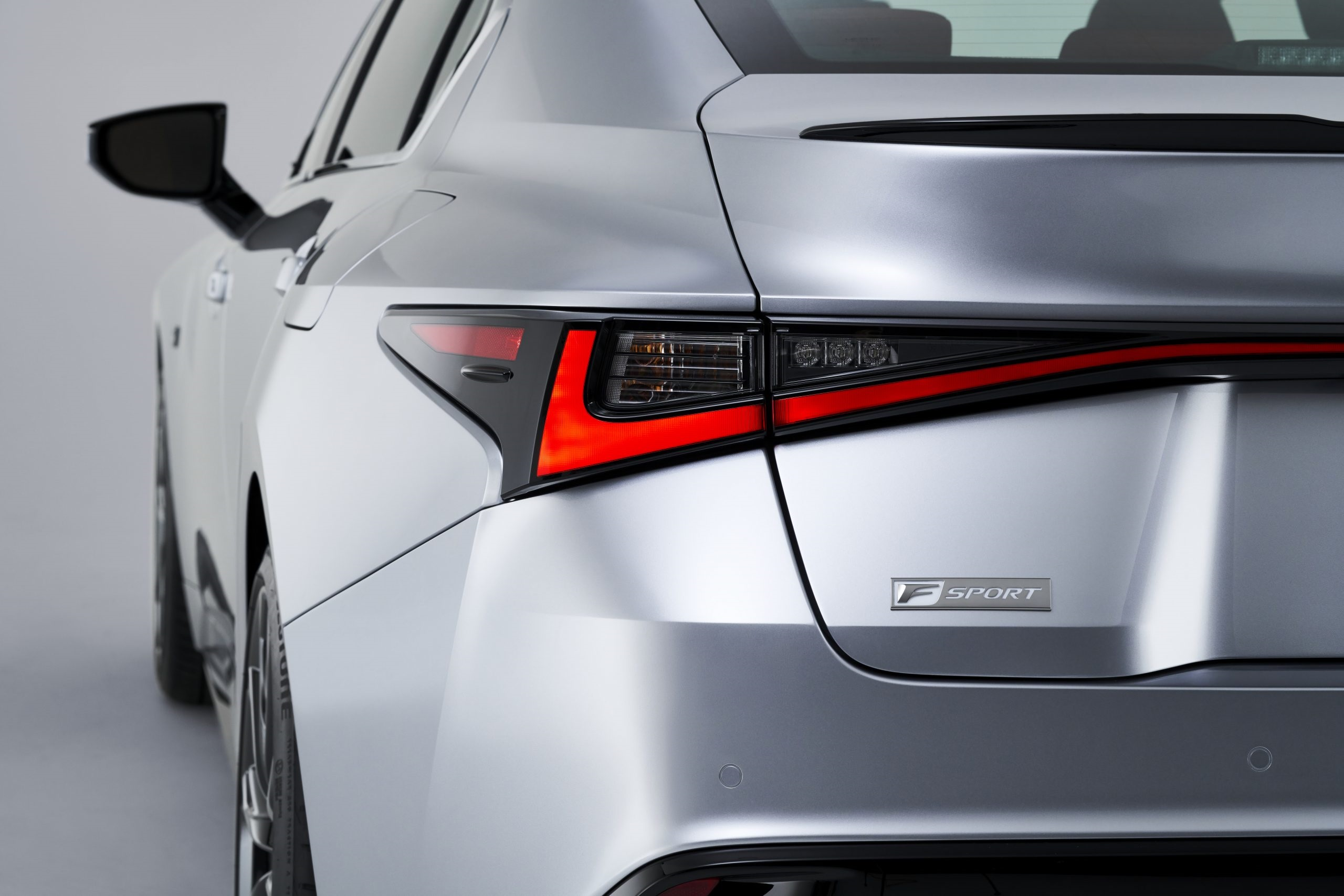 The taillights in the 2021 IS 350 F Sport