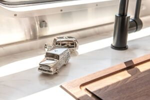 Airstream salt and pepper shakers
