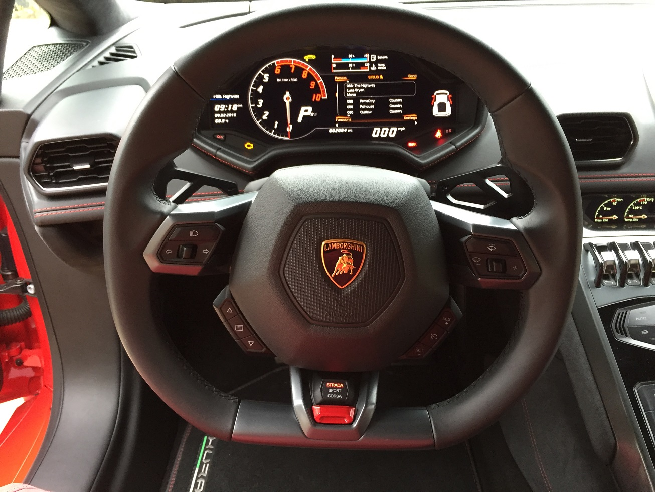 The steering wheel as command center