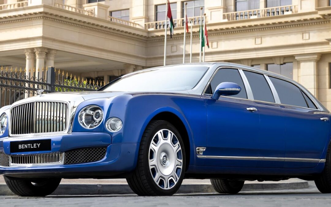 Bentley selling 5 new-old Mulsanne Grand Limousines by Mulliner
