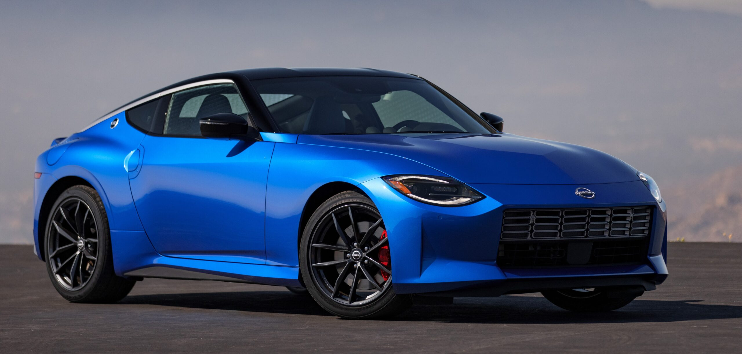 An exterior view of the 2023 Z