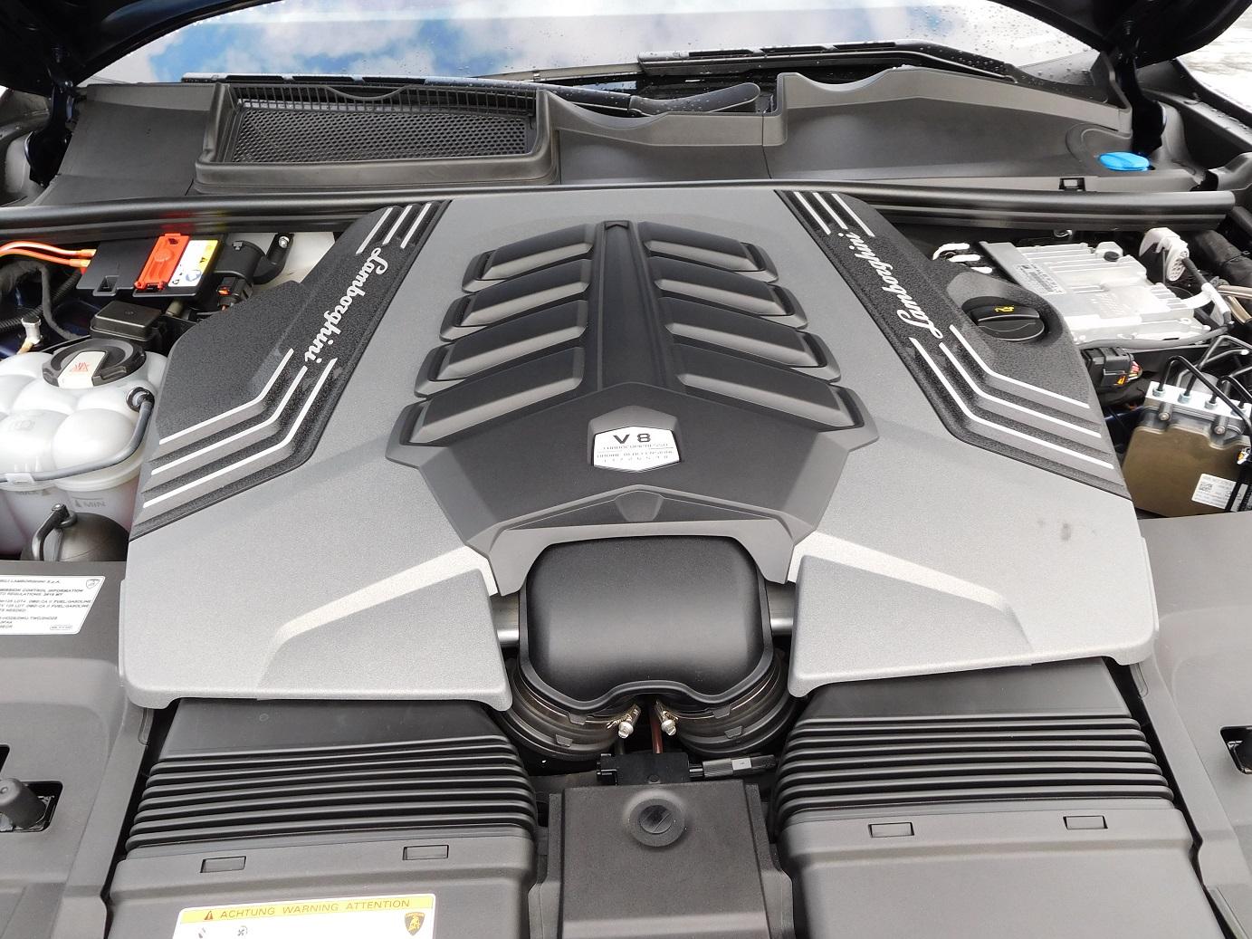 The twin-turbocharged, 650-horsepower V-8