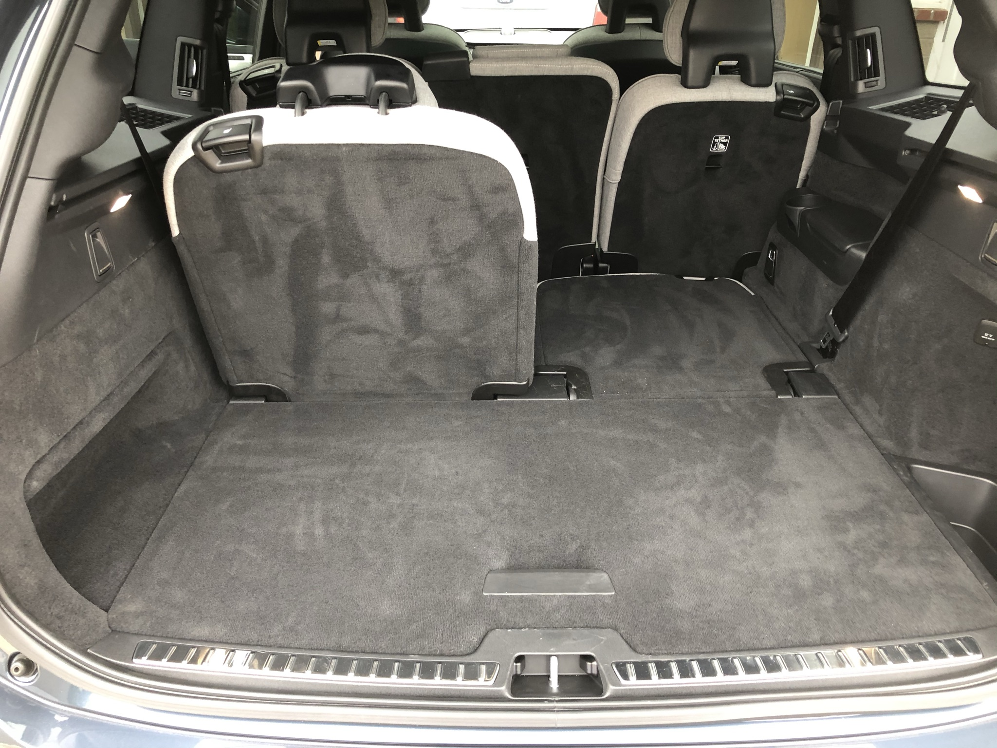 Cargo space in the XC90