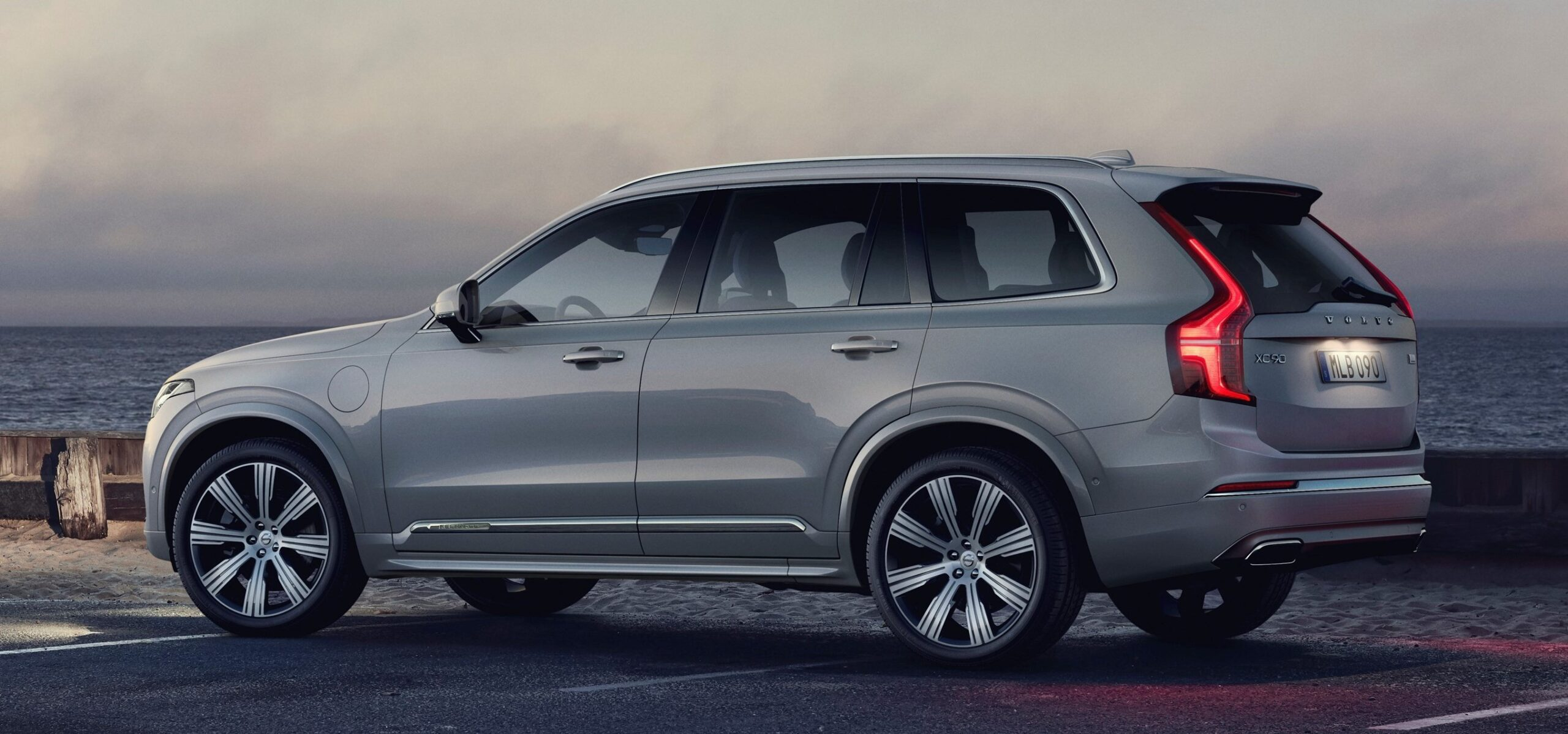 An exterior view of Volvo's XC90 plug-in hybrid
