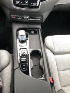 The crowded shifter console