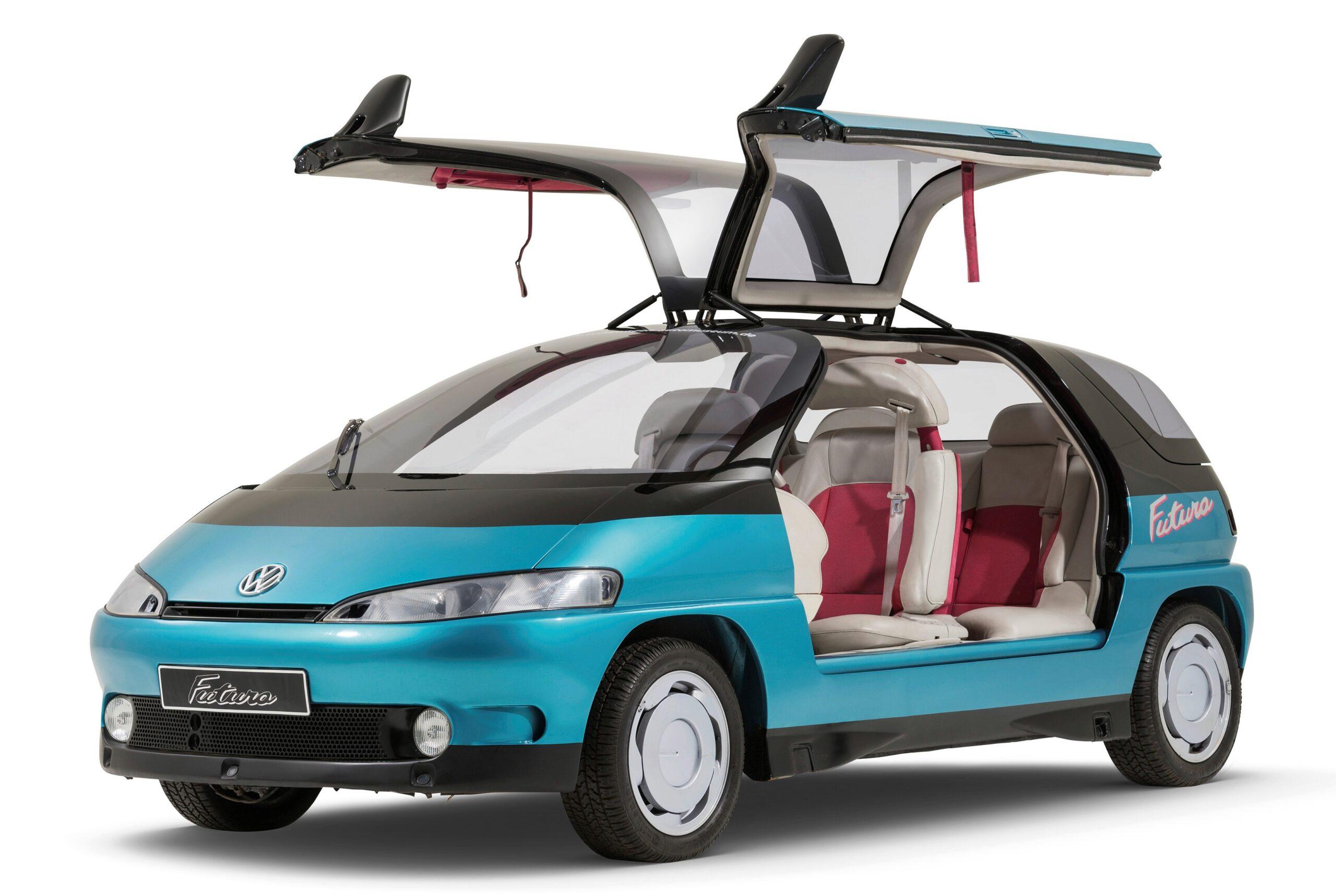 The futuristic VW Futura concept minivan