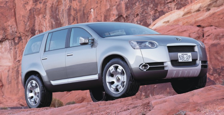 The 2002 Magellan concept for outdoor enthusiasts
