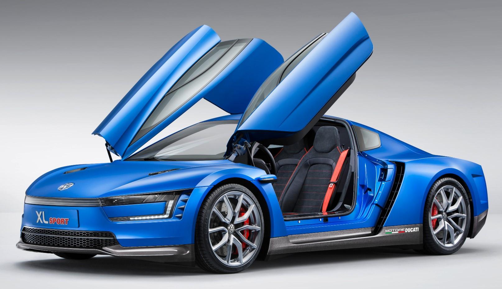 The 2014 XL Sport supercar prototype