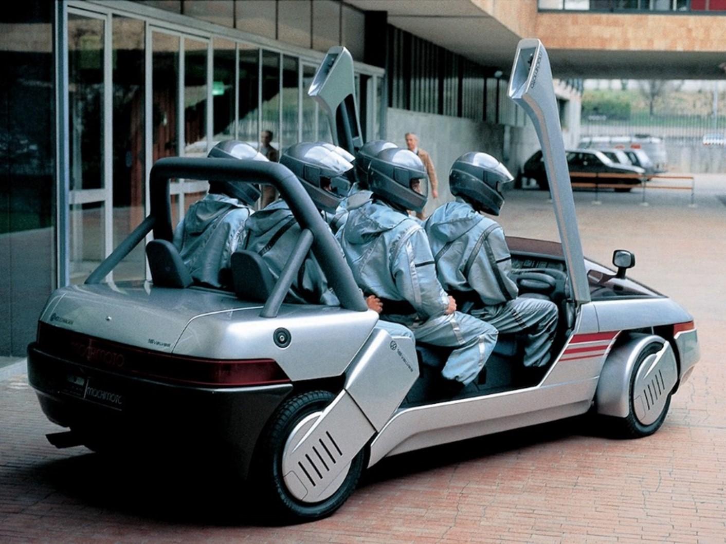 The Italdesign Machimoto VW concept