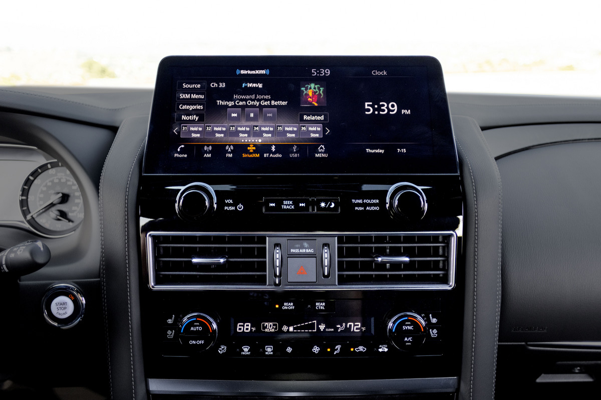 The InTouch infotainment system